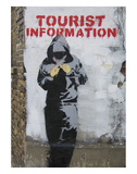 Tourist Information Posters by  Banksy