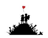 Liefde Posters van  Banksy