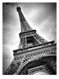 Paris Eiffel Tower Dynamic Giclée-Druck von Melanie Viola