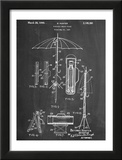 Vintage Beach Umbrella 1937 Patent Posters