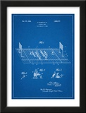 Vintage Electric Football Game Patent Posters