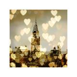 I Love NY I Giclée-tryk af Kate Carrigan