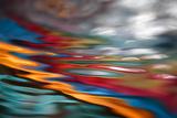 Panik am Roten Fluss Fotodruck von Ursula Abresch