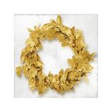 Golden Wreath I Giclee Print by Kate Bennett