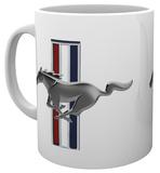 Ford Mustang Logo Mug Taza