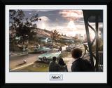 Fallout Sanctuary Hills Panic Stampa del collezionista