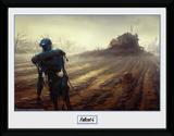 Fallout Farming Robot Stampa del collezionista
