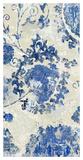 Adornment Panel Indigo I Giclee Print by Ellie Roberts
