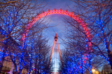 The Eye at Night Photographic Print by Adrian Campfield