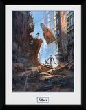 Fallout Street Scene Stampa del collezionista