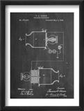 Speaking Telegraph Patent Poster