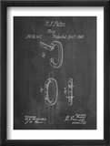 Caribiner Ring Patent Poster