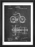 Bicycle Gearing Patent Posters