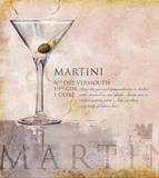 Martini Posters by Scott Jessop