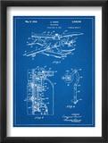Helicopter Patent Umělecké plakáty