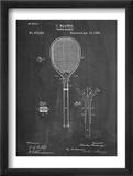 Tennis Racket Patent Plakát