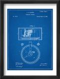 Stock Ticker Patent Plakaty