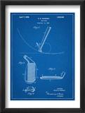 Golf Club Patent Plakat