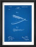Shaving Razor Patent Plakát