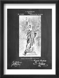 Statue Of Liberty Patent Reprodukce