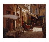Cafe De Provence Prints by Leonard Wren