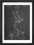 Folding Beach Chair Patent Poster