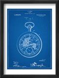 Pocket Watch Patent Plakát
