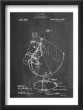 Horse Bridle Patent Plakater