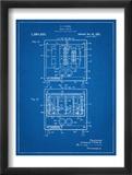 Bread Toaster Patent Kunstdrucke