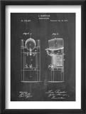 Beer Cooler Patent 1876 Plakaty