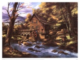 Rocky Creek Mill Art by Rudi Reichardt