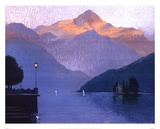 Italian Twilight Print by Michael Bennallack-Hart