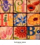 Blossom Prints by Suzanna Anna