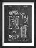 First Computer Patent 1889 Plakaty