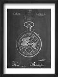 Pocket Watch Patent Reprodukce