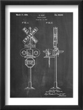 Railroad Crossing Signal Patent Obrazy