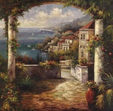 View From The Veranda Art by Peter Bell
