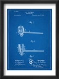 Tobacco Pipe 1890 Patent Plakater