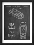 GPS Device Patent Plakaty