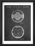 Soccer Ball Patent Obrazy