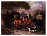 Before The Hunt II Art by Houston