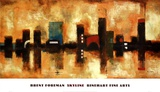 Skyline Poster by Brent Foreman