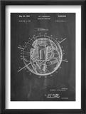 Space Station Satellite Patent Plakat