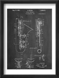 Saxophone Patent Pósters
