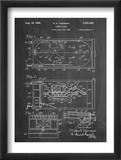 Pinball Machine Patent Reprodukcje