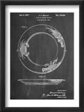 Dinner Plate Patent Obrazy