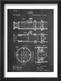 Telescope Vintage Patent 1891 Obrazy