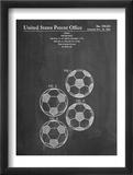 Soccer Ball Patent Umění