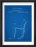 Artificail Leg Patent 1846 Reprodukcje