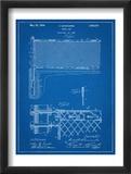 Tennis Net Patent Plakat